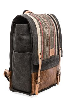 will leather backpack