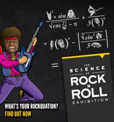 PWhat's your ROCKQUATION? Science Museum