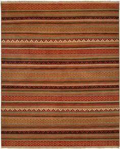 Rustic Handwoven Soumak Rug