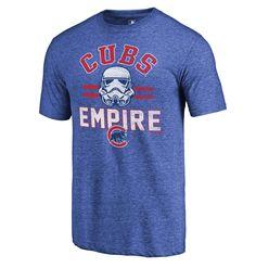 474c7044e27 Milwaukee Brewers Fanatics Branded MLB Star Wars Empire Tri-Blend T-Shirt –  Royal