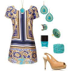 Wish the dress was a little longer and would wear with nude flats, but LOVE!