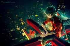 YUUMEIART.COMFACEBOOKTUMBLRTWITTERPIXIVYOUTUBE More concept designs for the upcoming reboot of Knite. Sometimes it feels like the cityscape of lights is humanity's replacement for the stars. Out of...