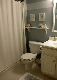 Easy DIY Updates for a Simple and Beachy Bathroom