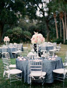 Vintage Glam Wedding Powel Crosley Estate » Tampa, Orlando Wedding & Event Design | FH Weddings & Events | Florals, Lighting, Specialty Furn...
