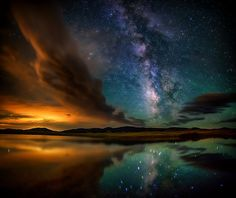 Eleven Mile Reservoir and the Milky Way