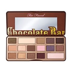 Chocolate Bar Eyeshadow Palette - Too Faced (660.080 IDR) ❤ liked on Polyvore featuring beauty products, makeup, eye makeup, eyeshadow, beauty, eyes, too faced cosmetics and palette eyeshadow