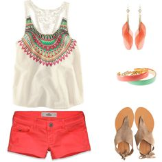 cute, warm weather outfit