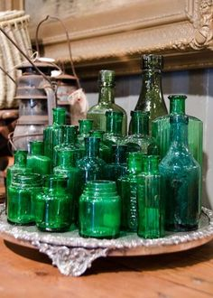 Bottles and jars collections