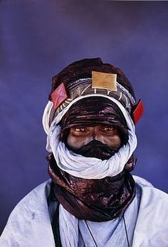 Africa | Tuareg man photographed in Mali | ©Belinda Images