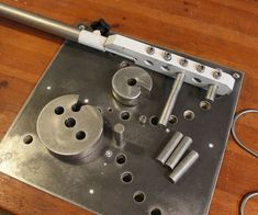 """HiI wanted to have an option to bend and scroll metal bars, but i have a little small """"shop"""".I didn't want to lose any space, so i decided to integrate it..."""