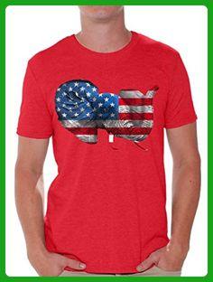 Awkward Styles USA Shirt 4th of July Shirt Proud American Flag T Shirt American Flag Elephant Shirt L - Animal shirts (*Amazon Partner-Link)