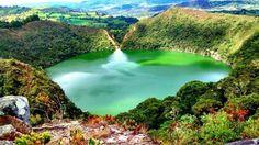 Laguna de Guatavita - from the legend of El Dorado