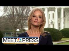Kellyanne Conway Press Secretary Sean Spicer Gave Alternative Facts Meet The Press