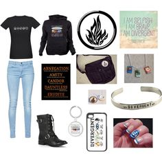 """#Divergent"" by courtney-twin on Polyvore"