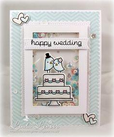 SWG Originals: Lawn Fawn - Happy Wedding