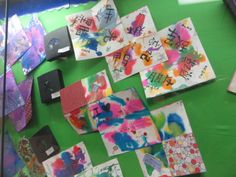 The Laker Junior High art students completed watercolor books in April that allowed students to express themselves in quite a colorful way. The books included quotes, thoughts and images that captured a piece of each artist's personality.