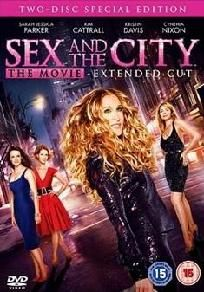 "Sex In The City ""Movie"" DVD 2 disc special"