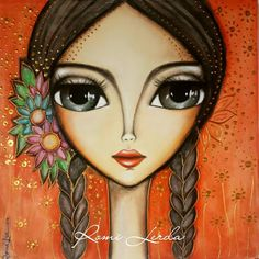 Image in Admin's images album Art And Illustration, Arte Pallet, Face Painting Designs, Art Abstrait, Whimsical Art, Art Plastique, Face Art, Indian Art, Painting Inspiration