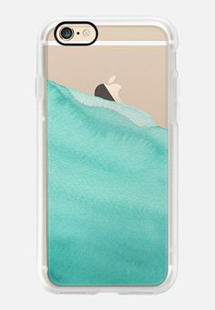 Casetify iPhone 7 Case and Other iPhone Covers - Dipped in Jade #watercolor by Frost Design Co. | #Casetify
