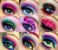 9 different eyeshadow with different colours <3