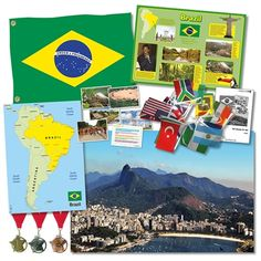Get Ready for Rio Collection! 2016 is the year that Brazil will host the Olympic Games in Rio. This excellent resource pack will give you a unique insight into the host country and help to bring Rio into the classroom through a topical theme. The teachers' notes included provide Olympic-based activity ideas covering Sports, Medals, Geography, Science, English, Art and Design and Maths. A photocopiable Olympic word search is also included.