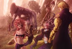 Nanatsu no Taizai chapter 109 - Ten Commandments by Desorienter on DeviantArt
