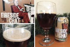 Our review of 21st Amendment Fireside Chat winter seasonal release. Winter spiced ale by 21st Amendment Brewery.
