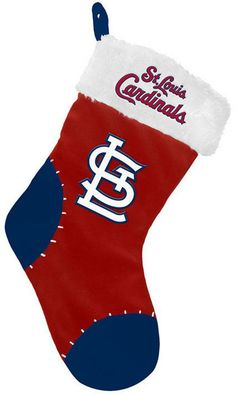 Forever Collectibles St. Louis Cardinals Team Logo Stocking