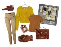 Colonel Mustard by the-thewalrus on Polyvore featuring polyvore fashion style Adam Levine Monki Polo Ralph Lauren Frye Carvela Kurt Geiger La Mer Palila clothing