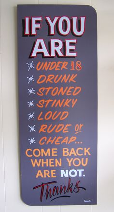 MDO/One Shot sign I painted....