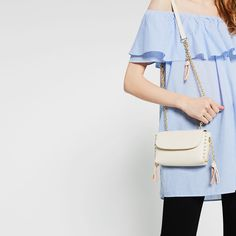 STUDS AND CHAIN CROSS BODY BAG-Mini bags-BAGS-WOMAN | ZARA Canada