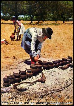 Trajes antigos do Alentejo.: Ceifeiro(a)
