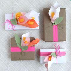 paper calla lilies diy