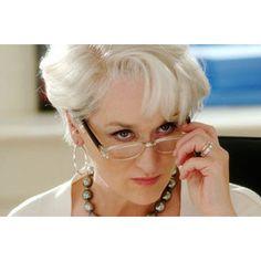 "Meryl Streep as Miranda Priestly in ""The Devil Wears Prada"""
