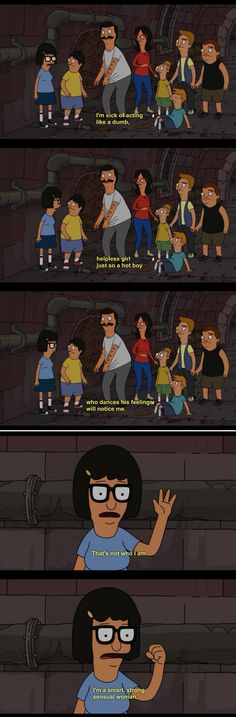 """Don't ever let anyone define who you are. 