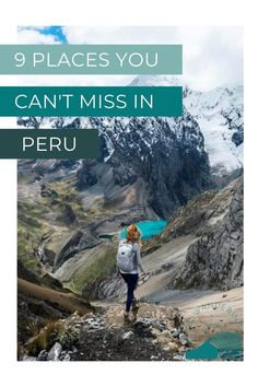 Peru is one of my favorite places in the world because there are so many beautiful spots to explore. If you're planning a trip to Peru, you can't go wrong with whatever you choose to see! But these are the top 9 beautiful places in Peru I can't recommend enough Ausangate Trek, Bucket List Destinations, Peru Travel, South America Travel, Beautiful Places To Visit, Travel Around, Travel Inspiration, Posts, Vacation