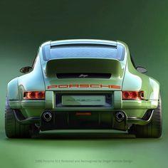 "24.8k Likes, 170 Comments - Singer Vehicle Design (@singervehicledesign) on Instagram: ""1990 Porsche 911 restored and modified by Singer Vehicle Design using results of Dynamics and…"" #Porsche #porsche911"