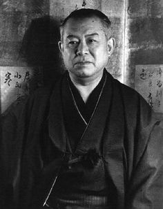 Japanese author, Junichiro TANIZAKI (1886~1965) 谷崎潤一郎