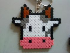Hama Bead Cow.
