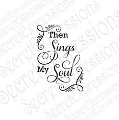 Then sings my soul svg Christian Jesus how by