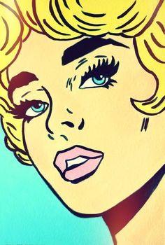 ART:Pop Art on Pinterest   Pop Art, Roy Lichtenstein and Andy Warhol