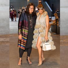 """Gefällt 2,420 Mal, 50 Kommentare - The Lady Loves Couture (@theladylovescouture) auf Instagram: """"On the Scene @dennisbasso! @marjorie_harvey hanging w/the creator of #NYFW @fernmallis!…"""""""