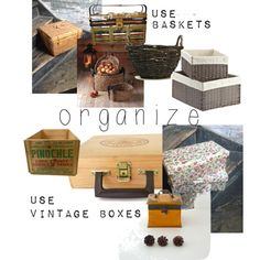organize your life by minalucinda on Polyvore featuring interior, interiors, interior design, dom, home decor, interior decorating, Bamboo, organize and declutter