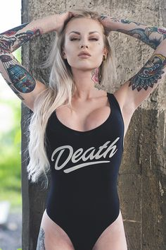 i have set before you this day.....death and life.....here's a hint....choose life....paraphrased from the King James version......hope this girl gets a new swimsuit