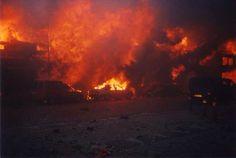 Enschede 13 mei 2000 Inferno vuurwerkramp waarbij voornamelijk de wijk Roombeek werd weggevaagd.