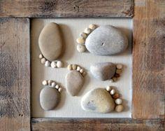 Seashells e arte del ciottolo di GoldEven su Etsy