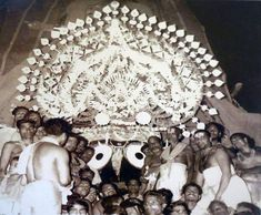 Here is a compilation of some very old photos and paintings of Jagannatha Puri, in Orissa. Many of these photos were taken by William Henry Cornish around Krishna Art, Lord Krishna, Rare Photos, Old Photos, Lord Jagannath, Hampi, Burlap Wreath, Old Things, History