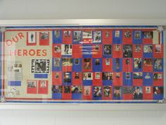Veteran's Day Hero Bulletin Board