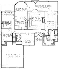 Smallest bedroom house bungalow floor plans plan for House plan search engine