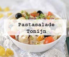 Pastasaladetonijn300x250 Scampi, Food For Thought, Risotto, Salad Recipes, Potato Salad, Tapas, Spicy, Bacon, Bbq